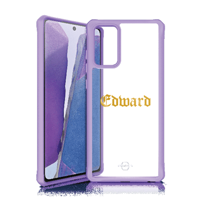 Itskins Hybrid Solid Case for Samsung Galaxy Note 20 (Purple) Case CUSTOMISE