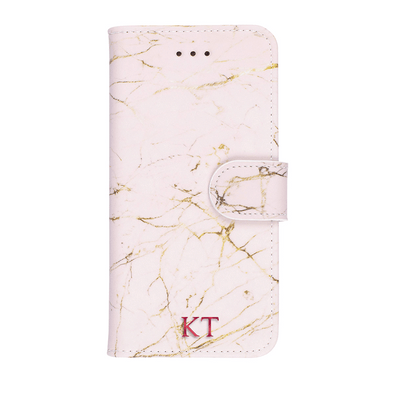 Marble Diary Wallet Case for iPhone 7/8 Case CUSTOMISE