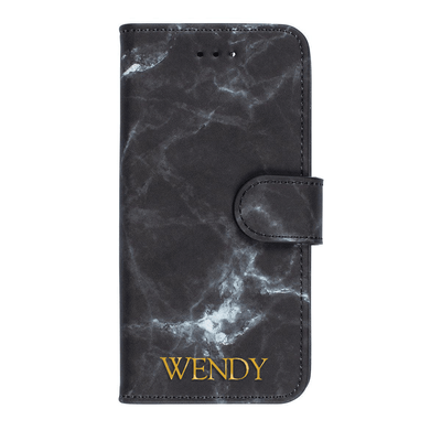 Marble Diary Wallet Case for iPhone 7 Plus/8 Plus Case CUSTOMISE