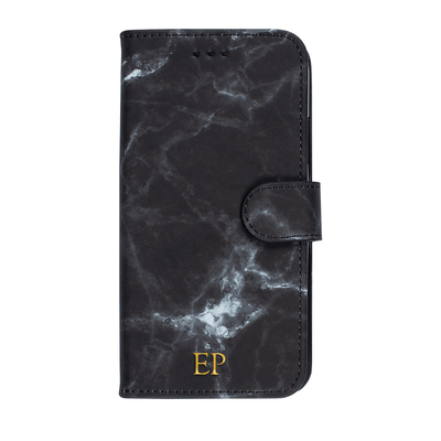 Marble Diary Wallet Case for iPhone XR Case CUSTOMISE