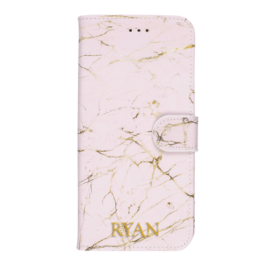 Marble Diary Wallet Case for iPhone XS Max Case CUSTOMISE