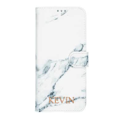 Marble Diary Wallet Case for Samsung Galaxy Note 20 Ultra Case CUSTOMISE