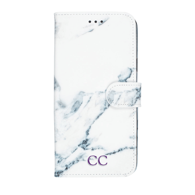 Marble Diary Wallet Case for Samsung Galaxy S9 Plus Case CUSTOMISE