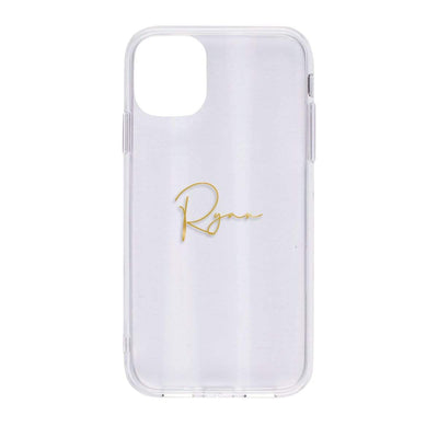 Shiny Case for iPhone 11 (Clear) Case CUSTOMISE