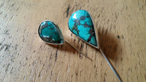 Turquoise Lapel Pin