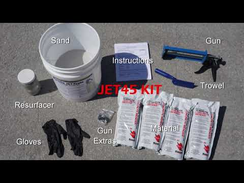 JET45 Starter Kit - includes Re-Usable Application Gun