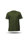 TEE-SHIRT COL ROND GRIS