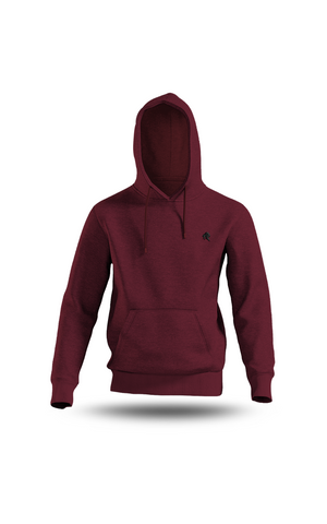 SWEAT-SHIRT À CAPUCHE BORDEAUX