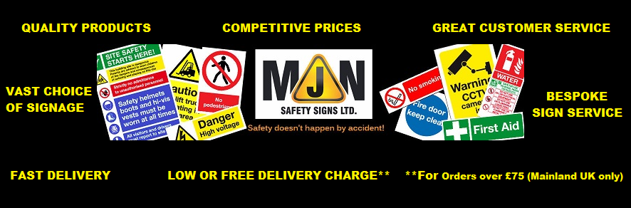 Why MJN Safety Signs