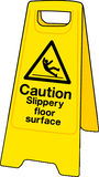 caution slippery floor