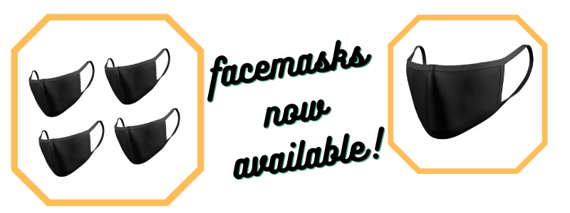re-useable face masks