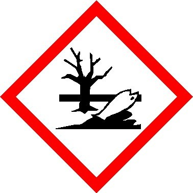 Hazardous to the environment GHS / CLP Label