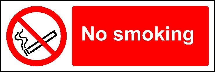 No Smoking Sign Prohibition Signs Mjn Safety Signs Ltd