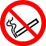 no smoking sign - 75mm dis