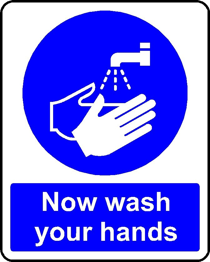 Now Wash Your Hands Sign Hygiene Sign Health And Safety Signs