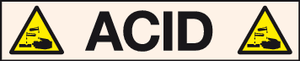 Acid pipeline label