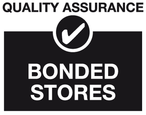 Bonded stored quality assurance sign