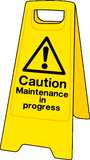 maintenance in progress sign