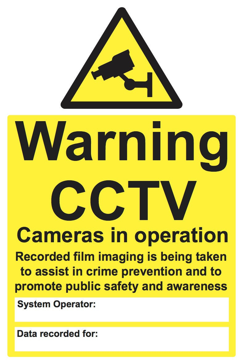 Cctv signs security signage health and safety signs and labels cctv security biocorpaavc