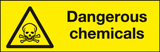 Dangerous chemicals labels