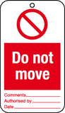 Do not move tags