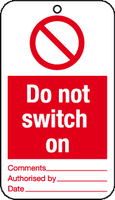 Do not switch on tag