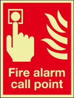 Fire alarm call point sin