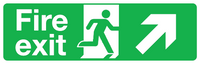 fire exit diagonal right