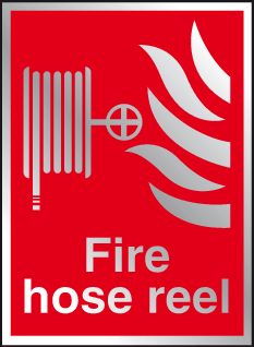 Fire hose reel Prestige sign