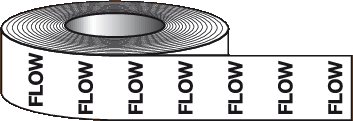 text Flow Direction Tapes