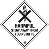 Harmful Stow away from food stuffs label
