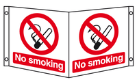 No smoking projecting sign