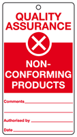 Non-conforming products tag