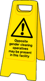 cleaning operatives sign