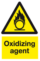 Oxidizing agent sign