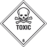 toxic label