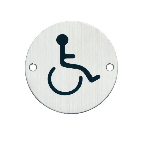 Disabled toiet sign