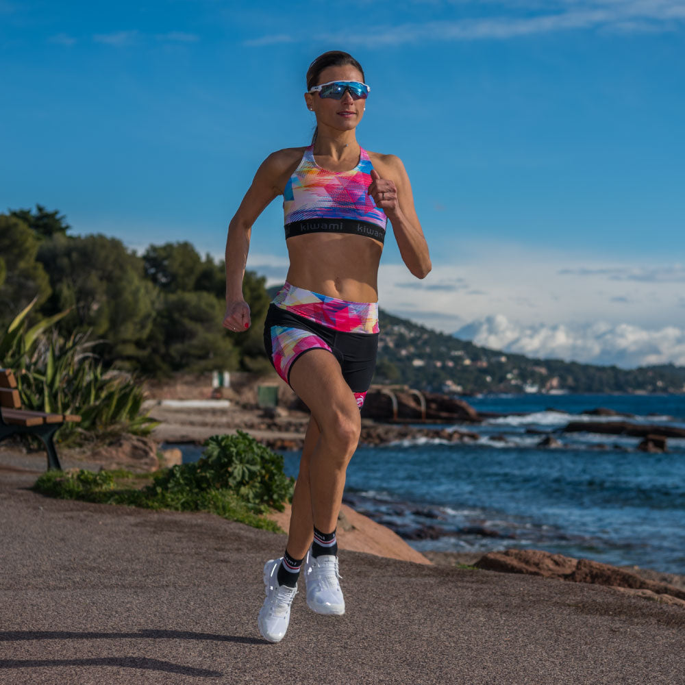 Triathlon top & short femme