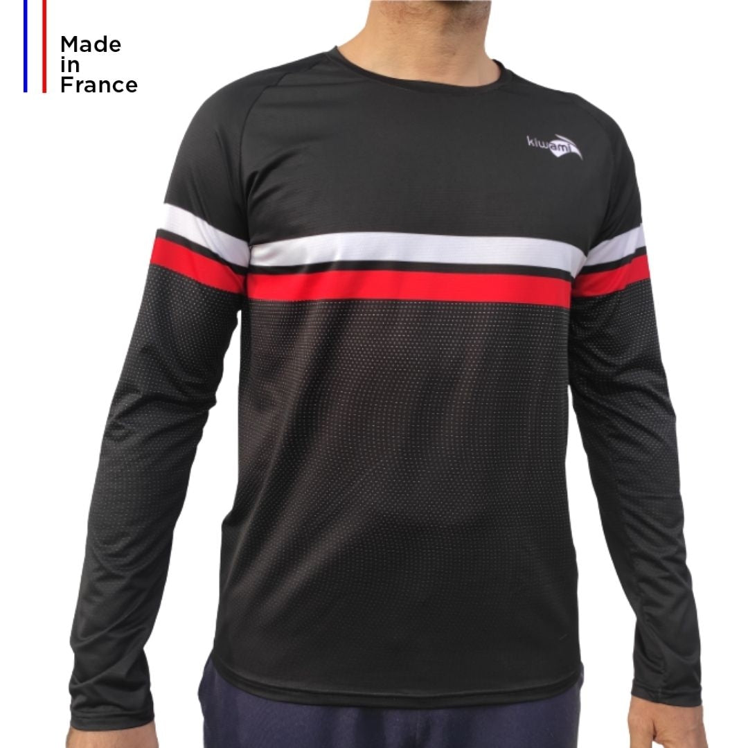 Men's long-sleeved running T-shirt