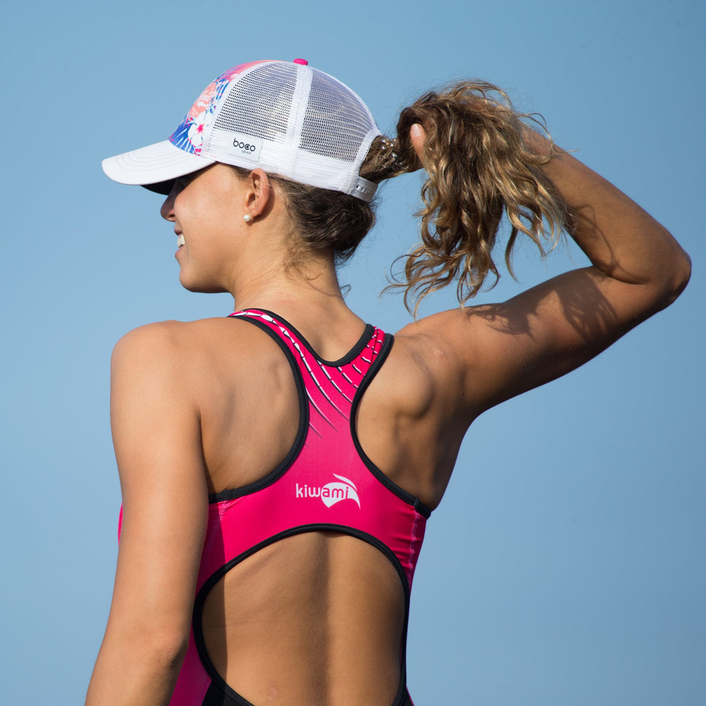 trifonction kiwami sports triathlon femme rose
