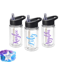Personalized Kids Water Bottle Flower Girl & Ring Bearer Gifts Custom Kids Tumblers Kids Party Favors Gifts for Kids Kids Cups Sports Bottle