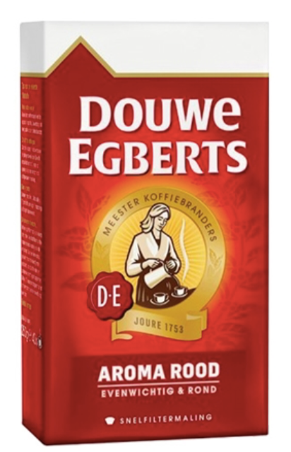 Douwe Egberts Aroma Rood Ground Coffee 250g