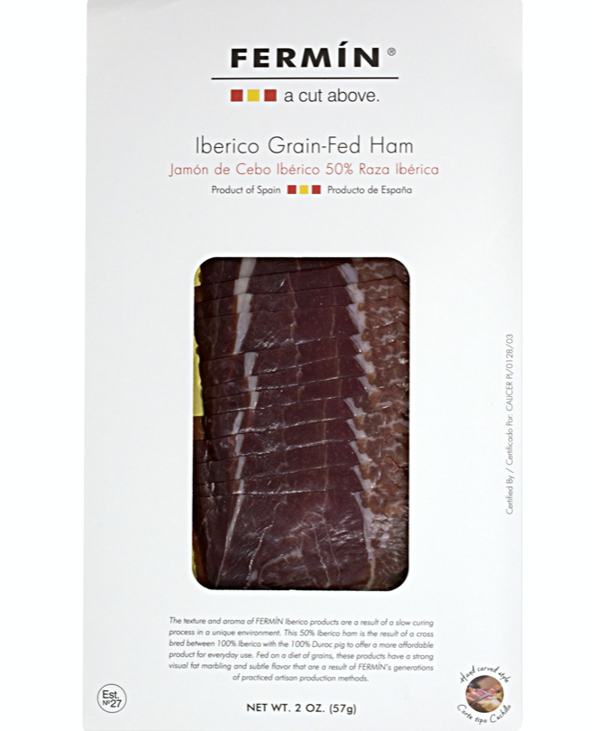 FERMIN Iberico grain fed ham (2 oz)