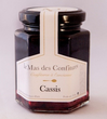 Le Mas Des Confitures Blackcurrant jam - 210 grams