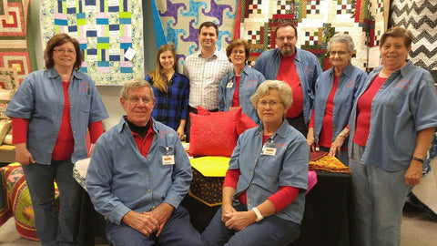 Part of the Sew Fabulous team that worked the Fox 8 Roy's Folks Craft Show 2015