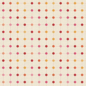 Sewing Mood - Small Buttons Red/Pink - 578
