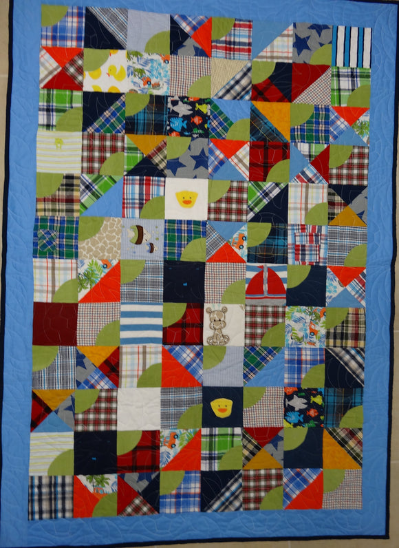 Ashley D's memory quilts