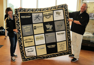 Wake Forest Retirement Quilt