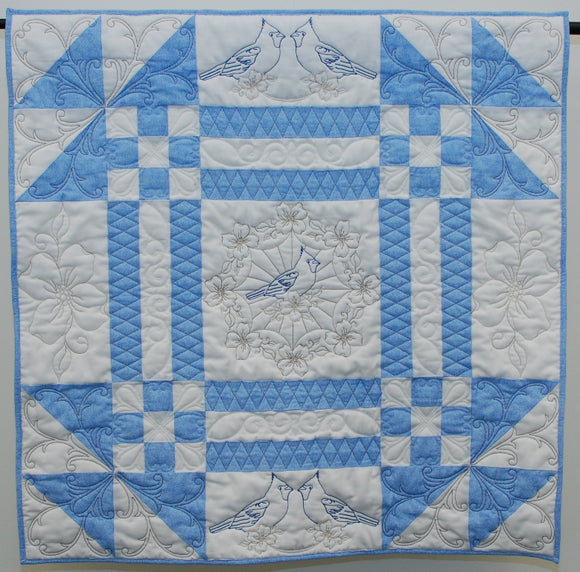 2010 Carolina Longarm Quilt Show Challenge Wallhanging