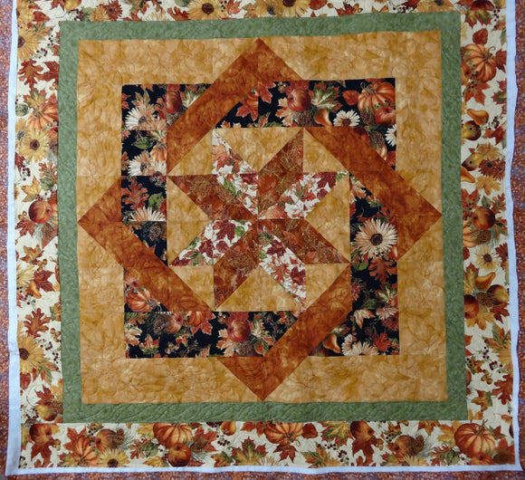 Helen's Autumn Tricks Quilt